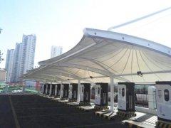 充电桩车棚工程----天津武清供电公司