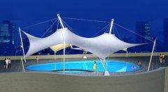 泳池遮阳雨棚----朔州