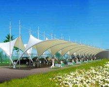 遮阳雨棚膜结构----阳泉