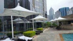 遮阳雨棚膜结构----运城