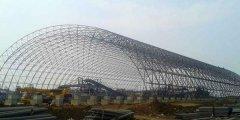新型环保煤棚膜结构