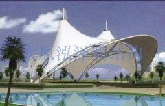 广场景观膜结构工程