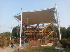 钢模结构顶棚---邢台爱尔迪幼儿园